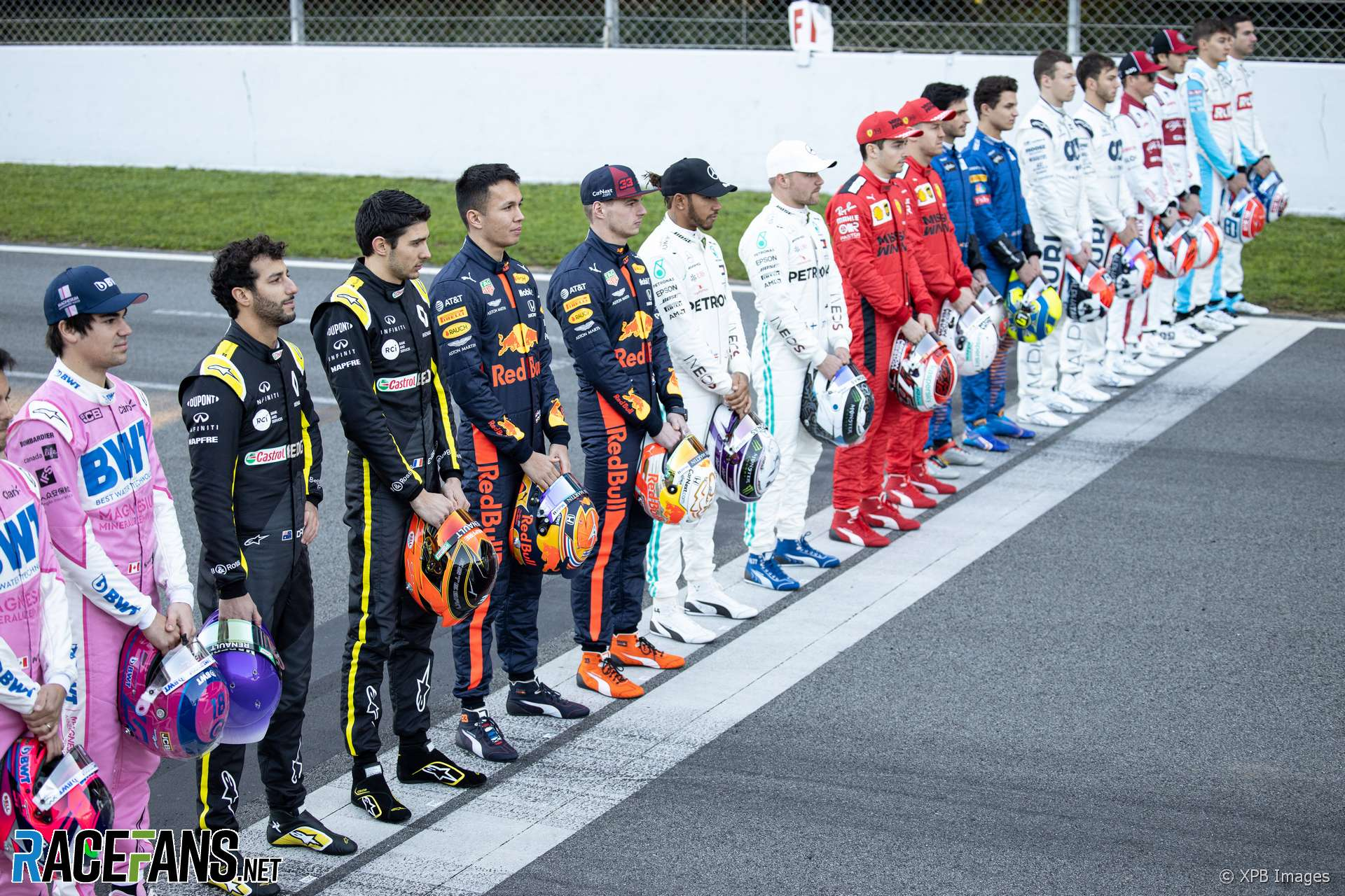 2021 F1 Drivers And Teams Racefans