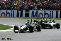 Coulthard stops Schumacher's winning run amid Silverstone's April showers
