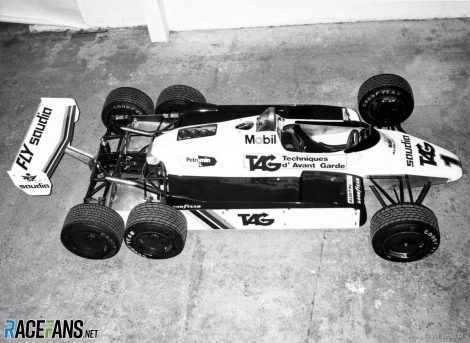 Williams FW07D-Ford, 1982