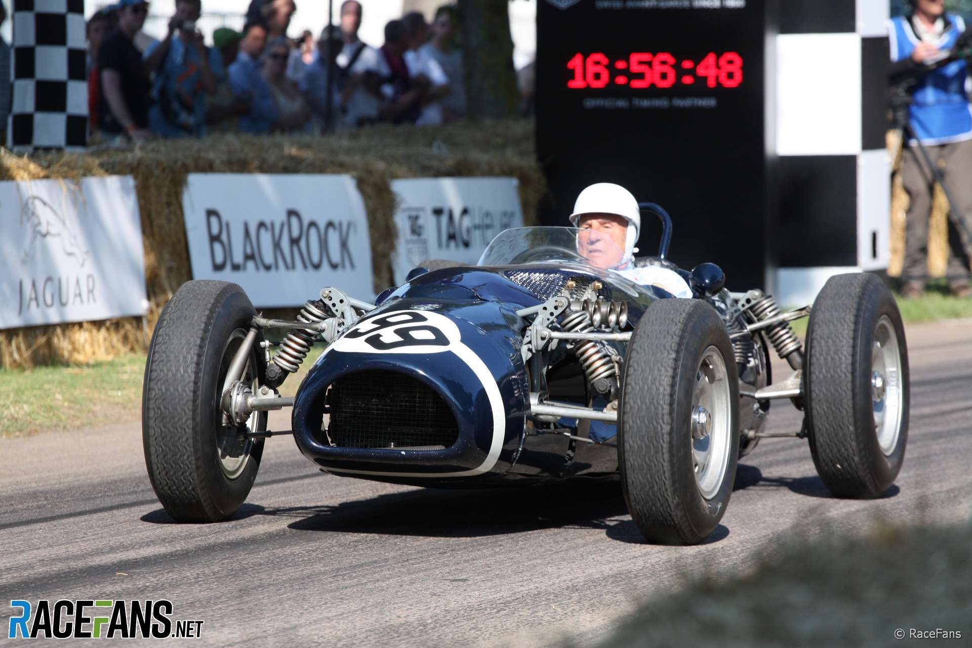 Stirling Moss, Goodwood Festival of Speed, 2011
