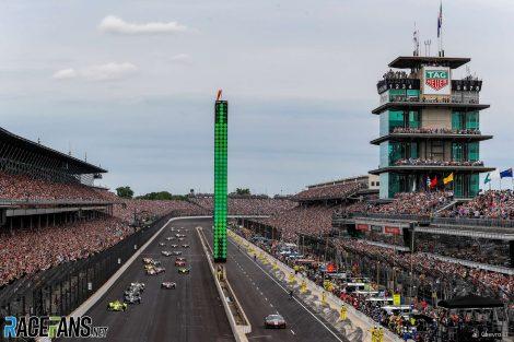 Start, IndyCar, Indianapolis 500, 2019
