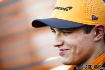 Norris expecting two races per weekend when F1 restarts