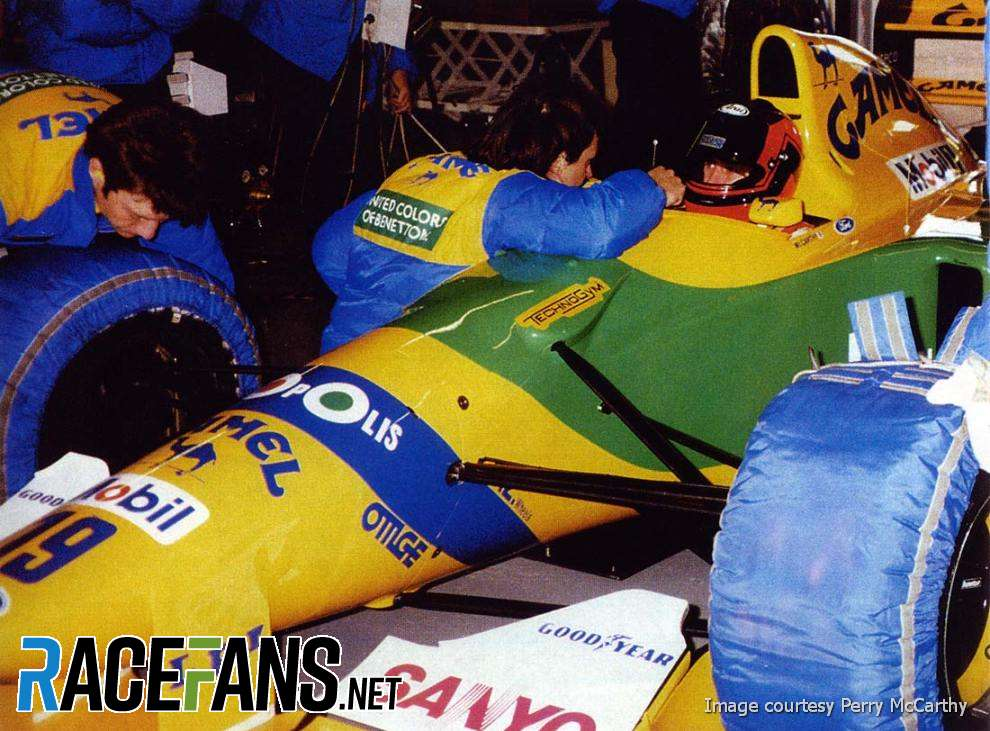 Perry McCarthy, Benetton B192, 1992