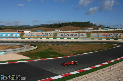 Marc Gene, Ferrari, Autodromo do Algarve, 2008