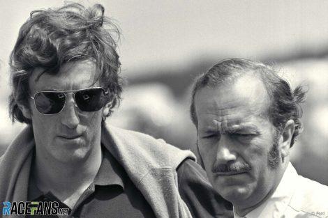 John Rindt, Colin Chapman, Brands Hatch, 1970