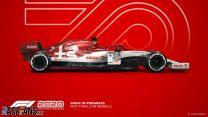 Alfa Romeo F1 2020 car model
