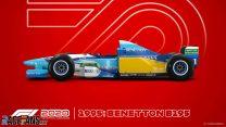 Benetton B195 F1 2020 car model