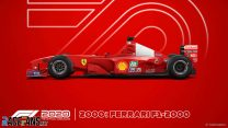 Ferrari F1-2000 F1 2020 car model