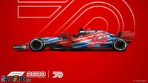 F1 70th anniversary F1 2020 car model