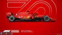 Ferrari F1 2020 car model