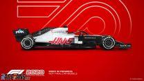 Haas F1 2020 car model