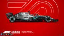 Mercedes F1 2020 car model