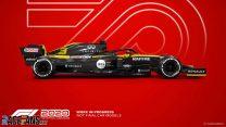 Renault F1 2020 car model