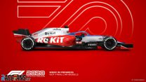 Williams F1 2020 car model