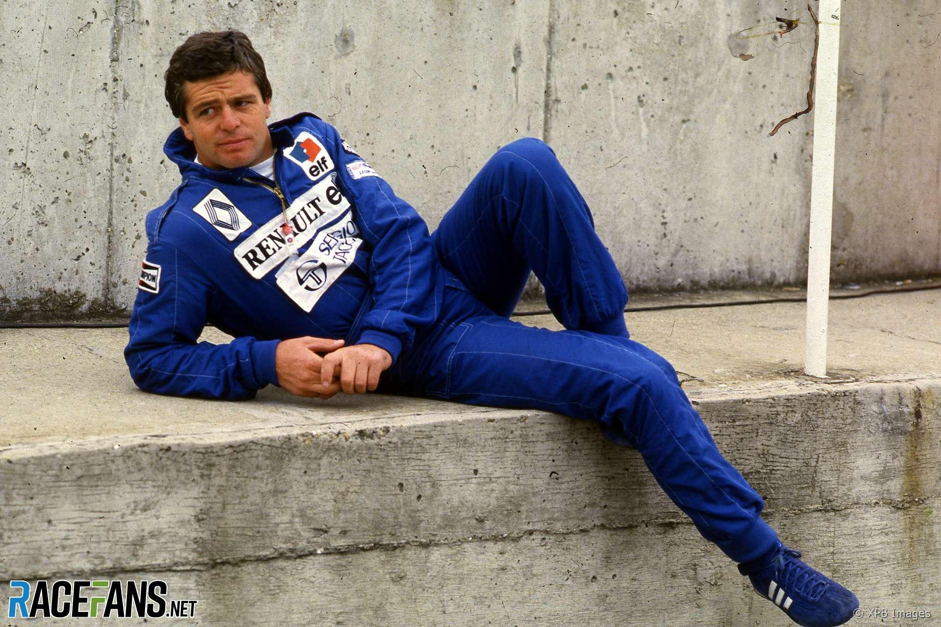 Derek Warwick, Renault, Osterreichring, 1984