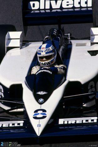 Derek Warwick, Renault, Detroit, 1986