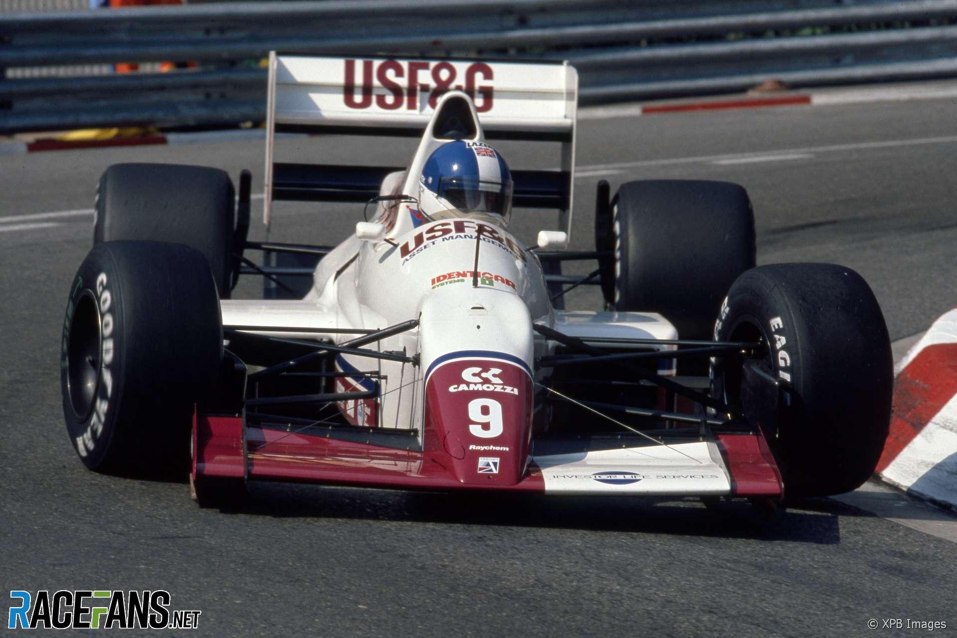 Derek Warwick, Arrows, Monaco, 1989