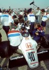 Stefan Johansson, Spirit, Brands Hatch, 1983