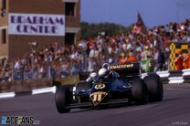 Elio de Angelis, Lotus, Brands Hatch, 1983