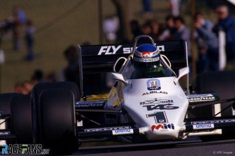 Keke Rosberg, Williams, Brands Hatch, 1983