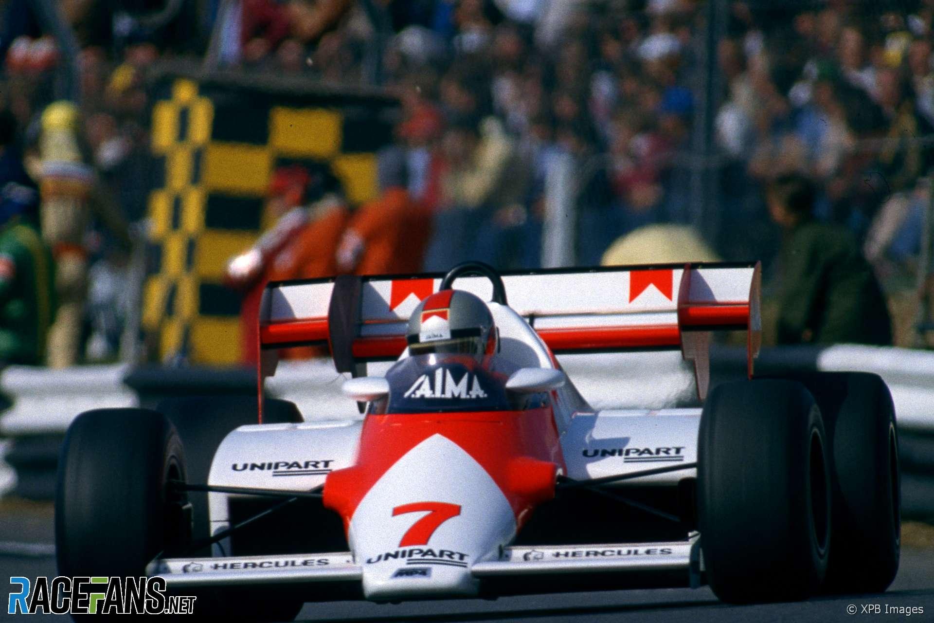 John Watson, McLaren, Brands Hatch, 1983