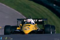Alain Prost, Renault, Brands Hatch, 1983