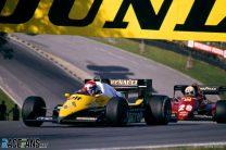 Eddie Cheever, Renault, Brands Hatch, 1983