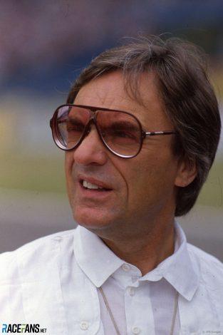 Bernie Ecclestone, Brabham, Hockenheimring, 1984
