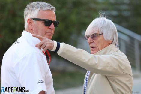 Derek Warwick, Bernie Ecclestone, 2016