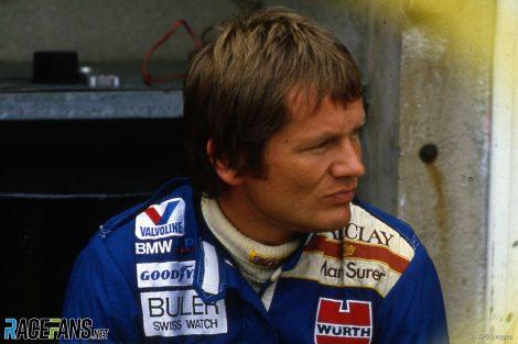 Marc Surer, Arrows, Hockenheimring, 1984