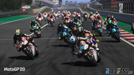 Moto GP 20 screenshot