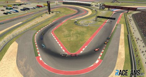 IndyCar iRacing Challenge, Circuit of the Americas, 2020