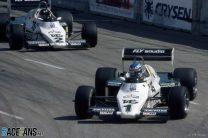 Keke Rosberg, Jacques Laffite, Williams, Long Beach, 1983