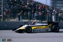 Eddie Cheever, Renault, Long Beach, 1983