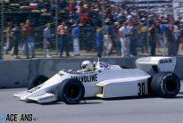 Alan Jones, Arrows, Long Beach, 1983