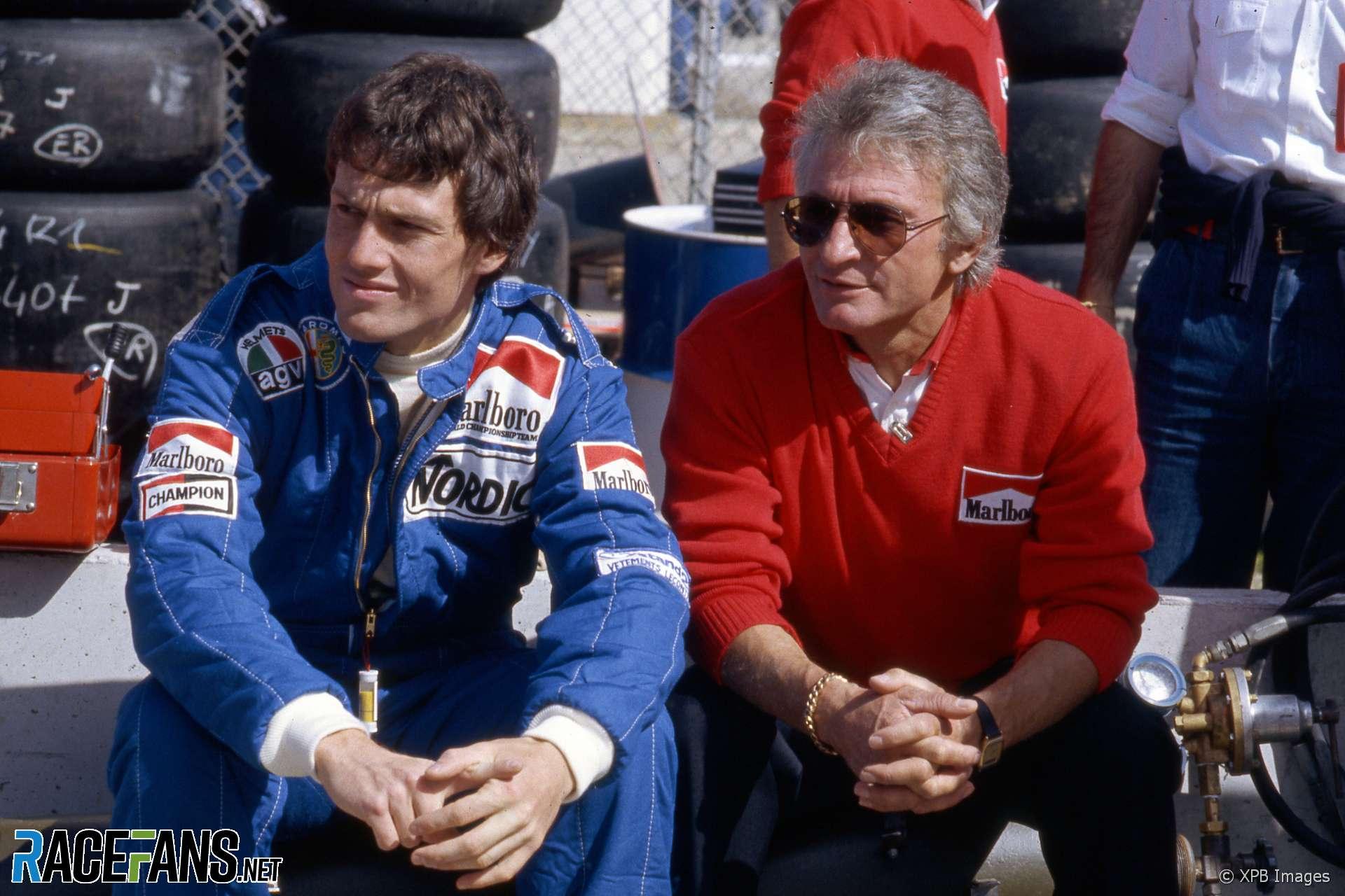 Andrea de Cesaris, Gerard Ducarouge, Alfa Romeo, Long Beach, 1983
