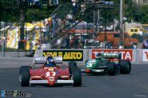 Patrick Tambay, Ferrari, Michele Alboreto, Tyrrell, Long Beach, 1983