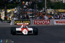 Niki Lauda, McLaren, Long Beach, 1983