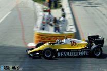 Alain Prost, Renault, Long Beach, 1983