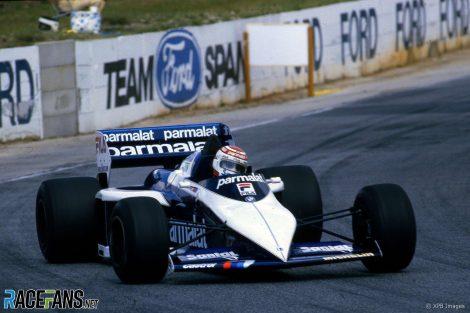 Nelson Piquet, Brabham, Long Beach, 1983