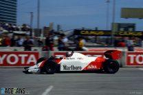 John Watson, McLaren, Long Beach, 1983