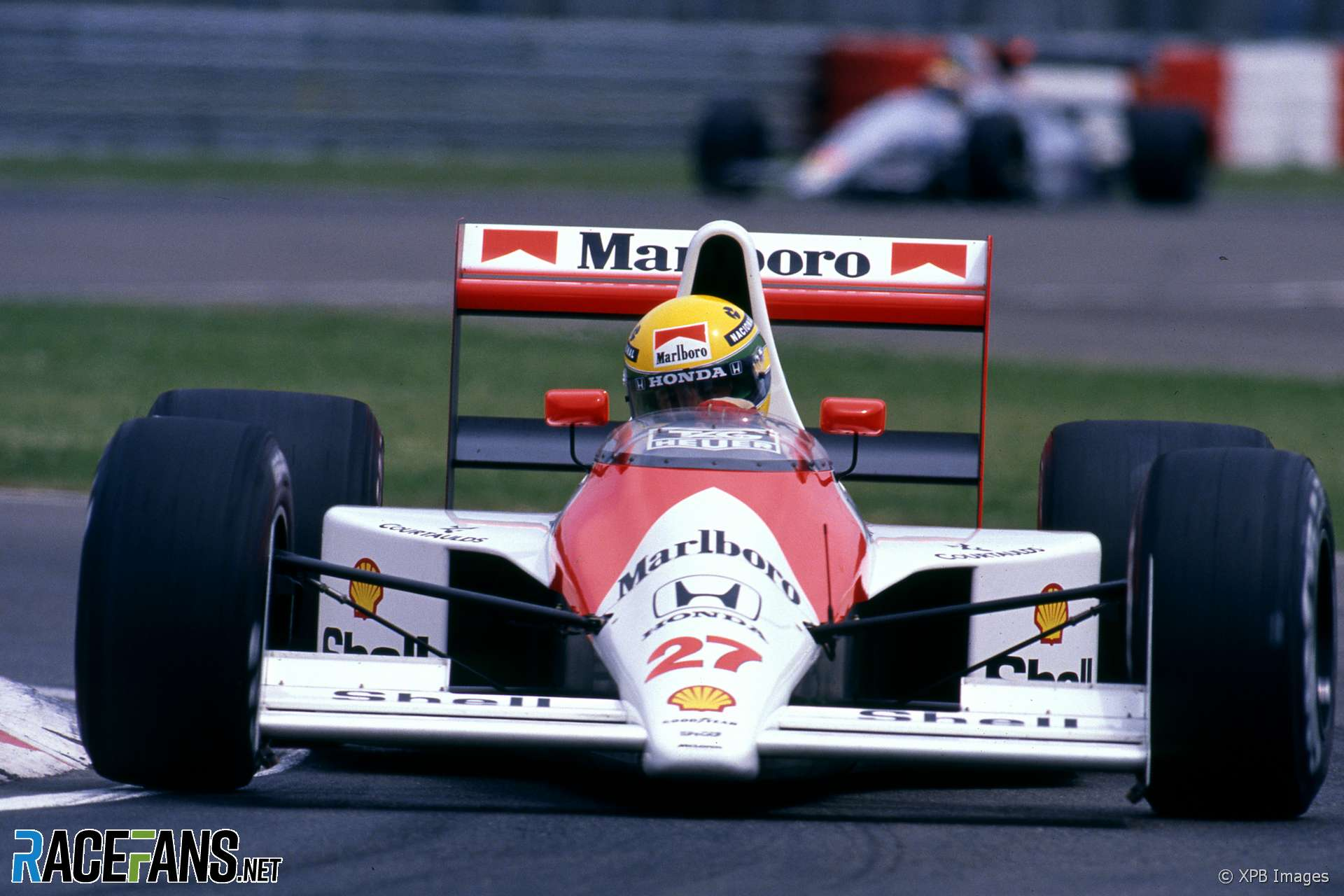 Ayrton Senna, McLaren, Imola, 1990