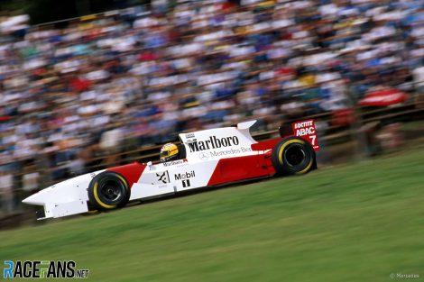 Mark Blundell, McLaren-Mercedes, Buenos Aries, 1995