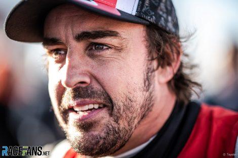 Fernando Alonso, Toyota, Dakar Rally, 2020