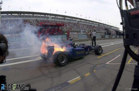 Nick Heidfeld, Prost, Circuit de Catalunya, 2000