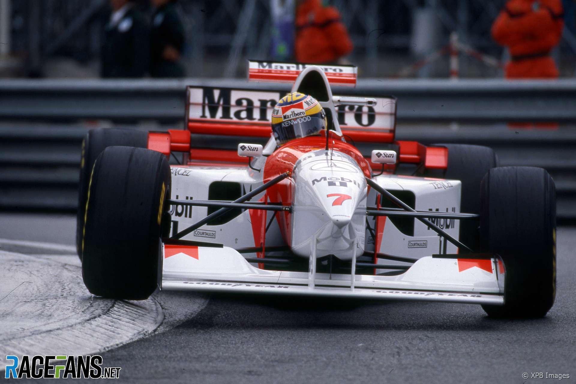 Mark Blundell, McLaren, Monaco, 1995