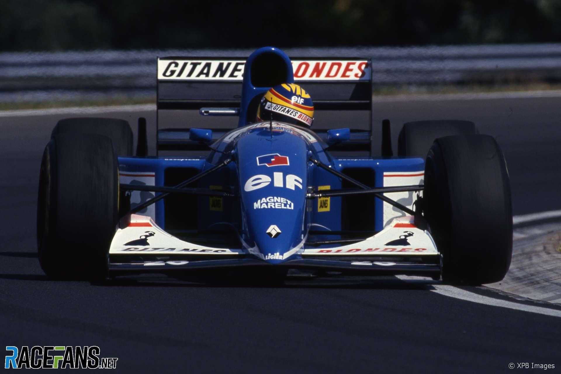 Mark Blundell, Ligier, Hungaroring, 1993