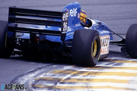 Mark Blundell, Ligier, Interlagos, 1993