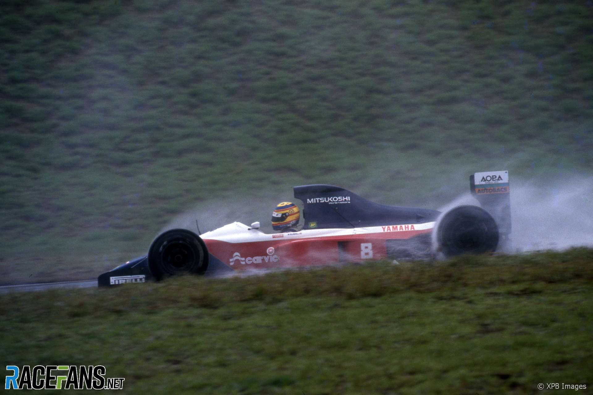 Mark Blundell, Brabham-Yamaha BT59Y, Interlagos, 1991