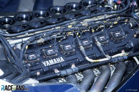 Yamaha engine, Brabham BT60Y, Monaco, 1991
